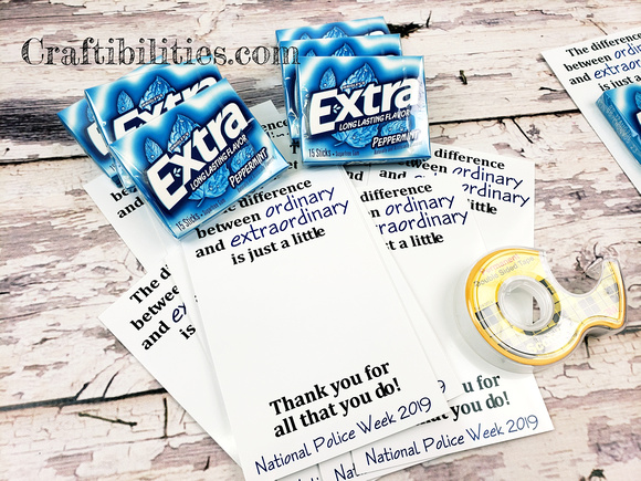 SUPER EASY National Police Week ideas - FREE INSTANT