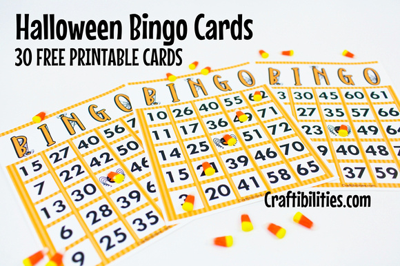 photograph about Free Halloween Bingo Printable named Cost-free Halloween Bingo Playing cards - Clroom themed recreation, College