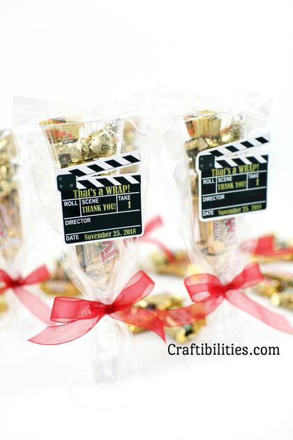 Movie Night Red Carpet Event Party Favor Idea