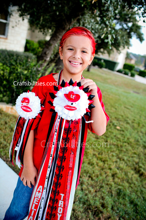 Homecoming Mum Texas Tradition Football Hoco Garter Mum Diy