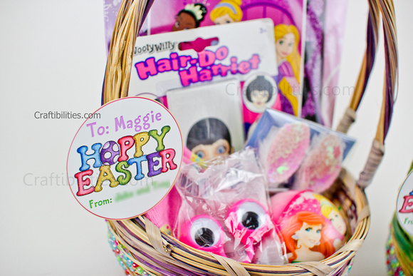 Younger kids no candy easter basket ideas for a boy and girl found everything at micheals craft store most items were a 1 or a little more i also had a 20 off coupon so ore extra savings make me happy negle Image collections