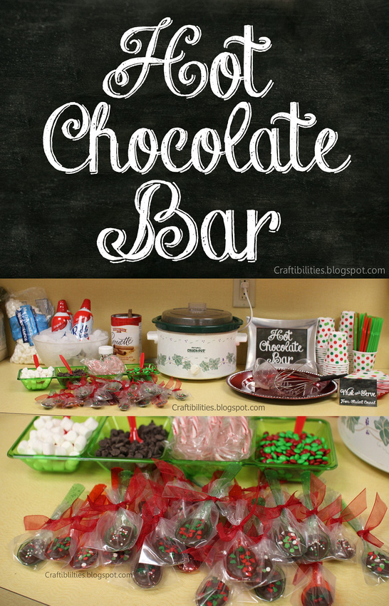 Chocolate SPOONS & HOT CHOCOLATE BAR - free downloadable ...