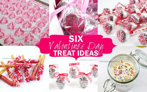 six valentine's day diy treat ideas! class/teachers/friends, Ideas