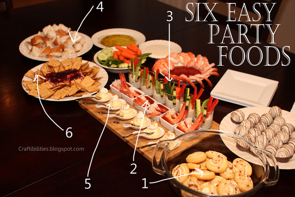 6 easy party foods and super fun drink idea great for for Easy food ideas for parties