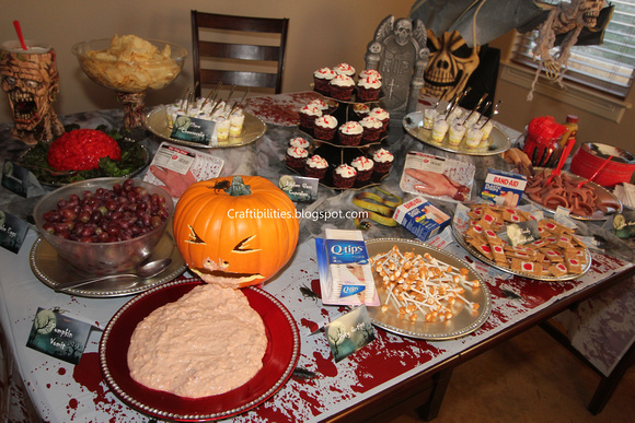 Halloween Party - KIDS food & ADULT drink ideas - Creative snacks ...