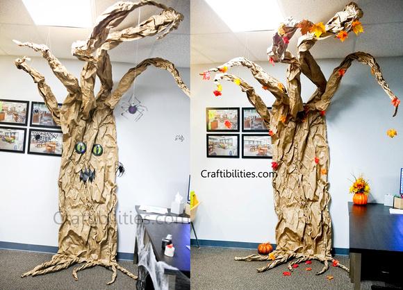 November Fall Office Decoration Ideas