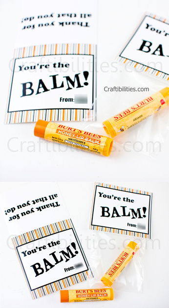 Teacher appreciation week youre the balm bomb free printable free downloadable tag you can print its sized as a 4x6 photo print send to a 1hr photo lab or print at home negle Gallery