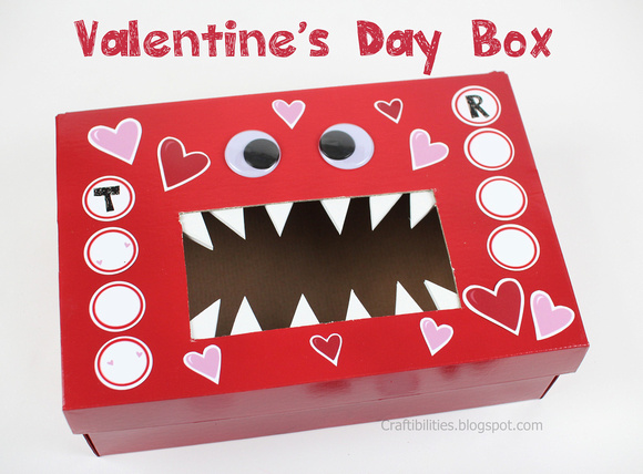 Monster Valentine S Day Box School Classroom Idea Free