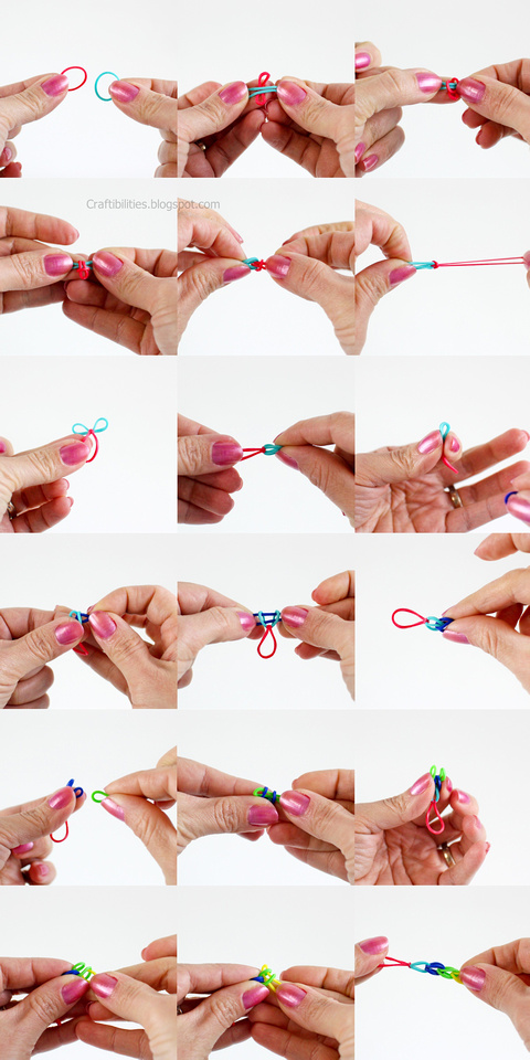 rubber band bracelets make it without a loom tutorial