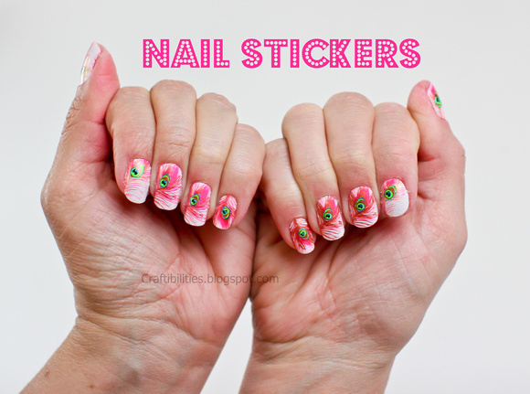 I Would Like To Say My Hands Are Really Dry And Just Took Off Red Nail Polish Prior Putting These Stickers Ontranslation