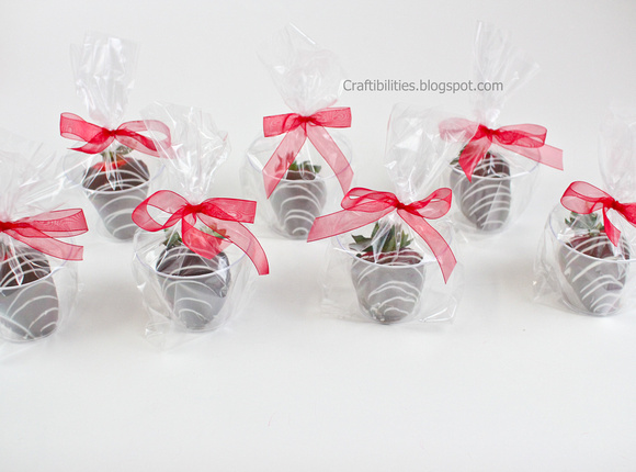 Cute Ways To Wrap Chocolate Covered Strawberries